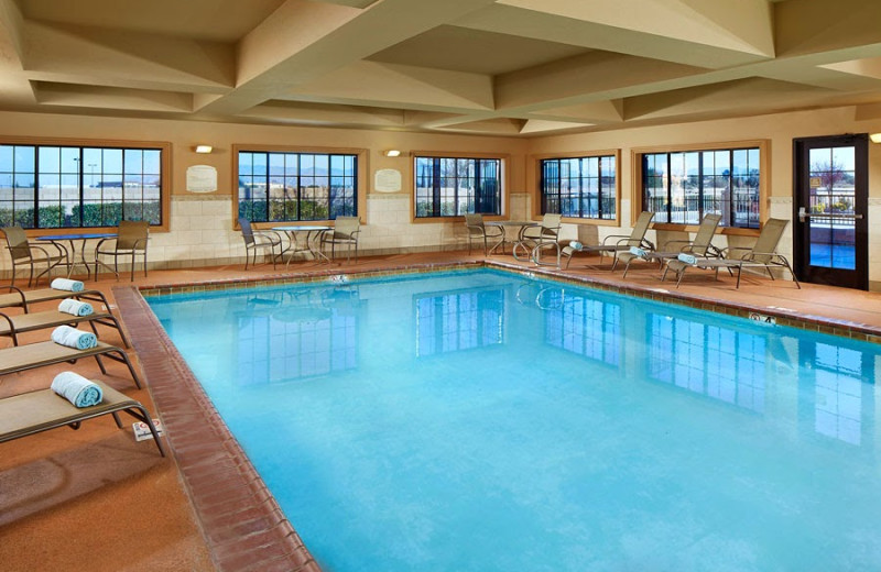 Indoor pool at SpringHill Suites Victorville Hesperia.