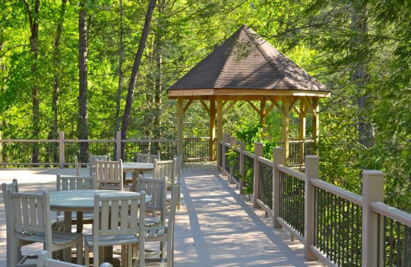 Gazebo at Rivers Ridge Lodge