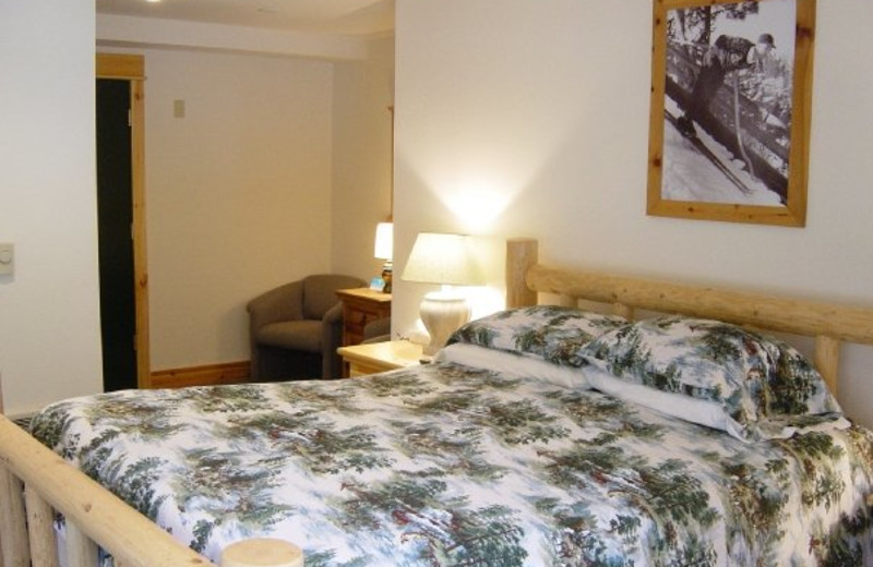 Guest room at Crystal Mountain Hotels.