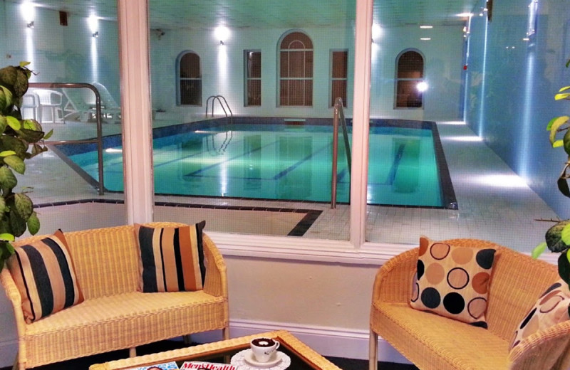 Indoor pool at Falmouth Hotel.