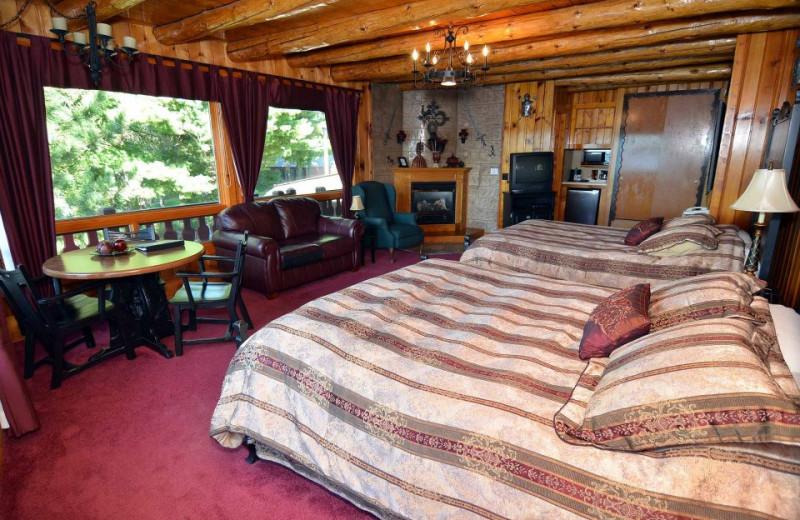 Guest room at Garmisch USA Resort.