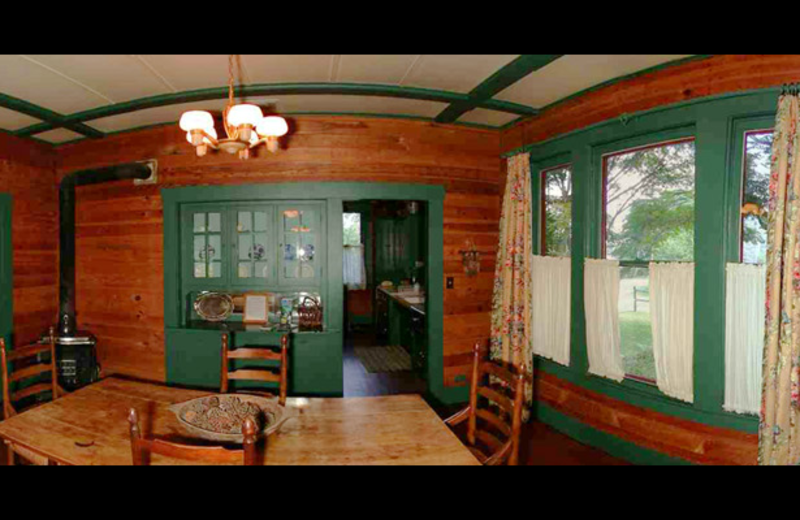 Baag Farm House dining room at Settlers Crossing.
