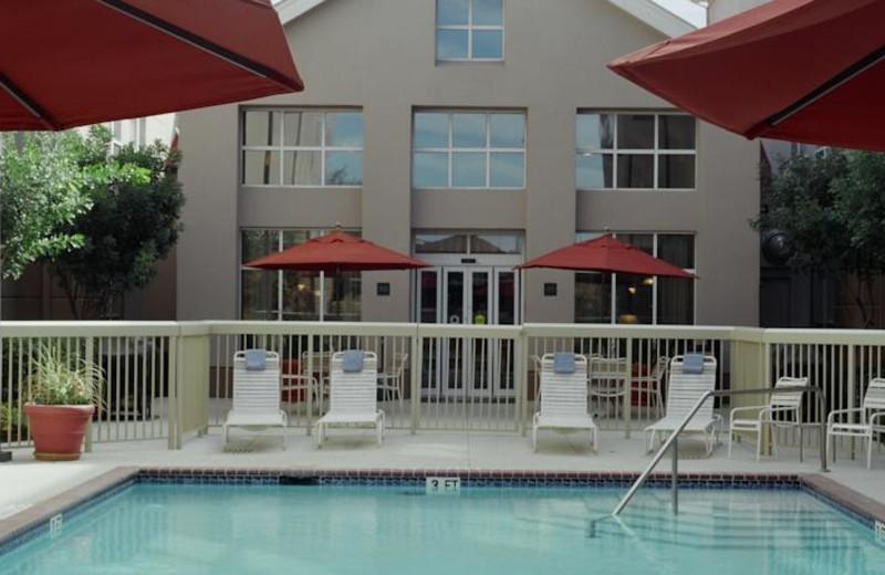 Outdoor pool at Homewood Suites San Antonio-Northwest.