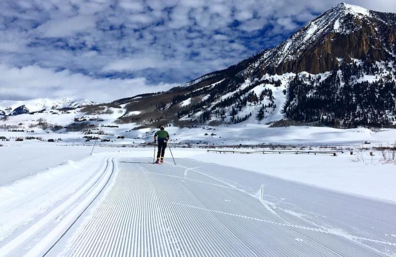 Skiing at Old Town Inn.