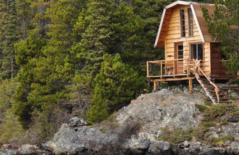 Cliff Cabin at Crazy Bear Wilderness Lodge