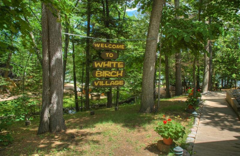 Grounds at White Birch Village Resort.
