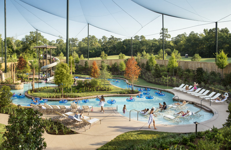 Water park at The Woodlands Resort and Conference Center.