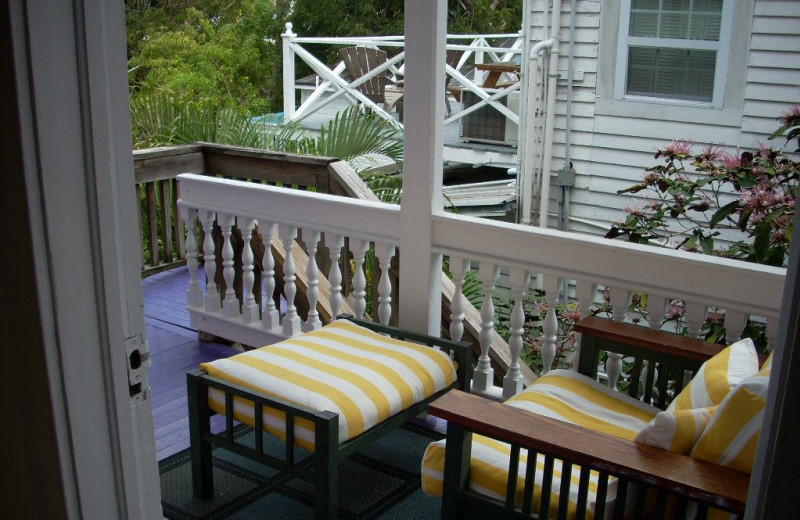 Deck view at Popular House.