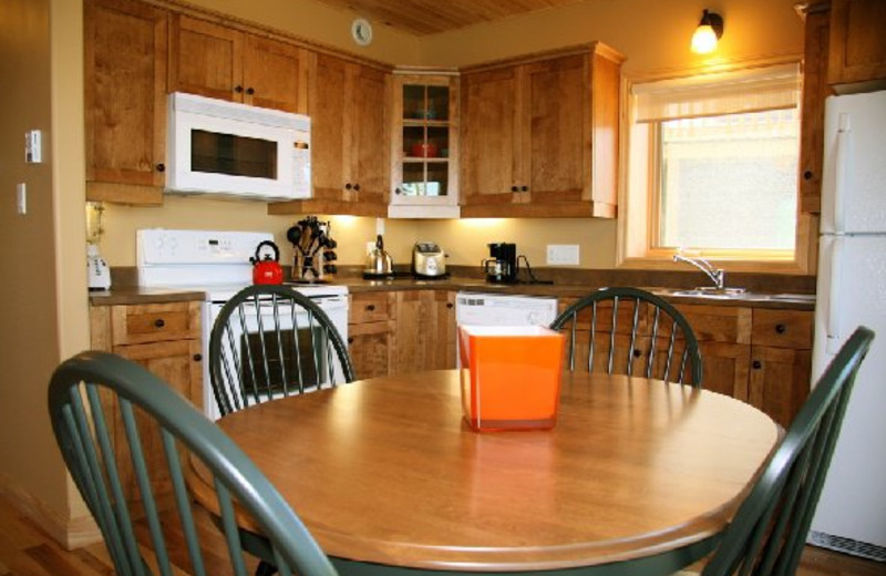 Kitchen at Pictou Lodge Resort