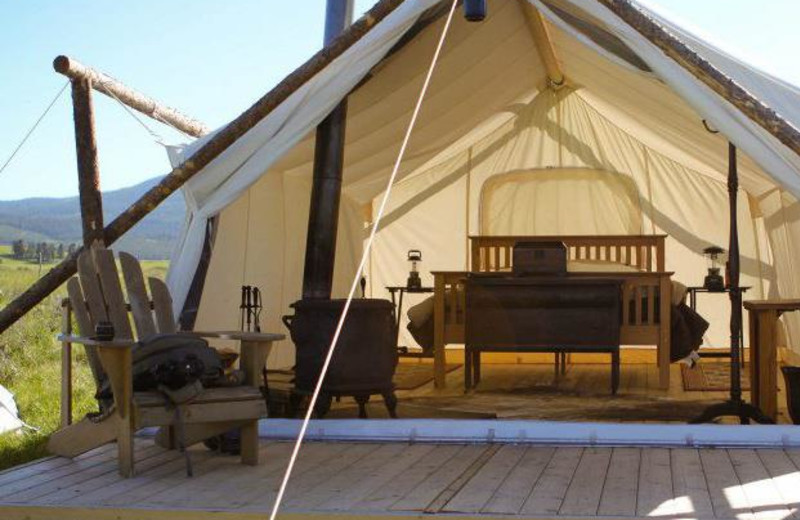 Glamping at Yellowstone Under Canvas
