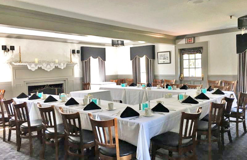 Meeting room at Historic Afton House Inn.