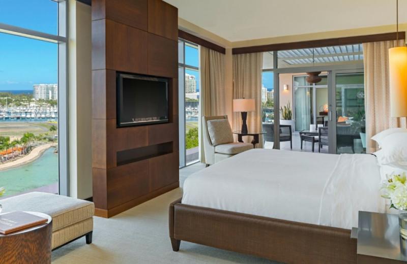 Guest room at Sheraton Puerto Rico Hotel & Casino.