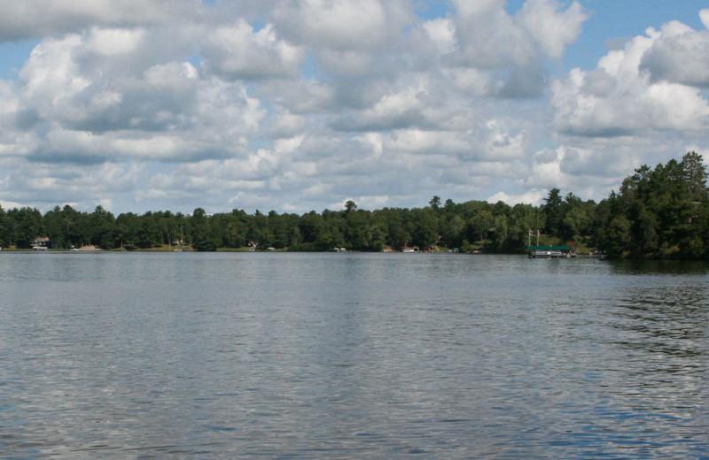 Lake view at Lake Ridge Resort.