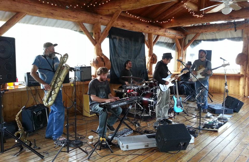 Live music at Trail Lake Lodge.
