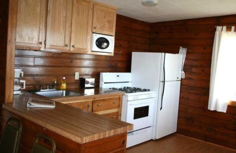 Crows Nest kitchen at Ten Mile Lake Resort.