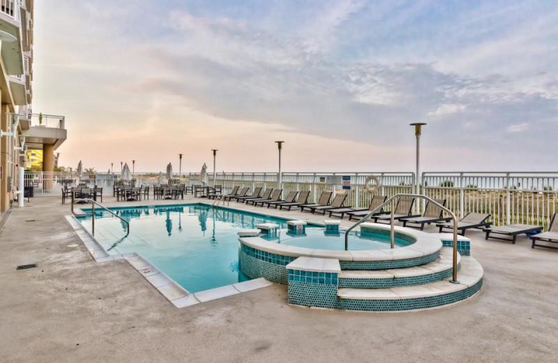 Rental pool at Vacasa Ocean City.