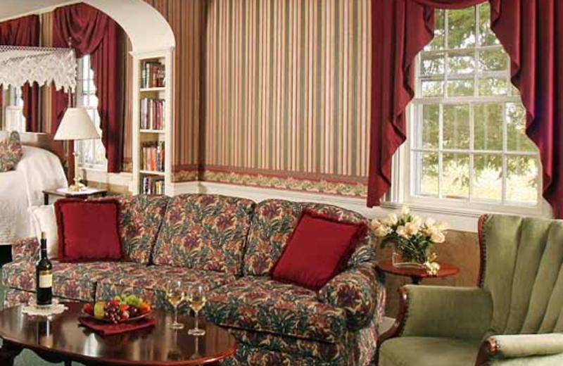 Samuel Hodby Luxury Room view at Rabbit Hill Inn.