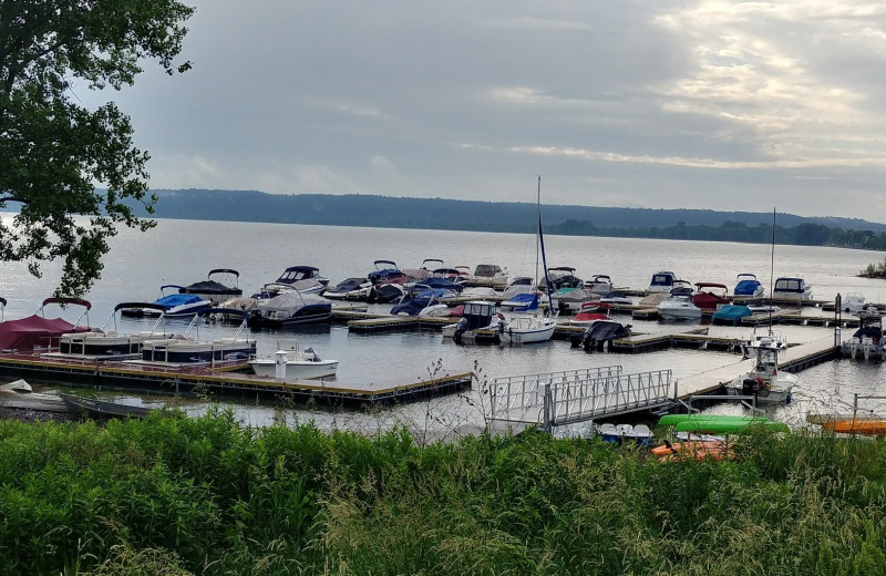 Boat rentals are available from our wide selection of pontoon boats, pedal boats, kayaks, canoes, and row boats.  The Marina offers seasonal, daily, and overnight dockage to campground guests and the public. The Marina offers seasonal, daily, and overnight dockage to campground guests and the public. Free parking for your trailer is available while your boat is docked in the Marina.