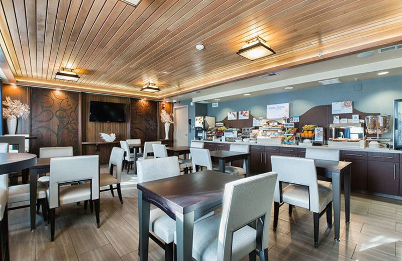 Continental Breakfast at Holiday Inn Express Redwood City-Central