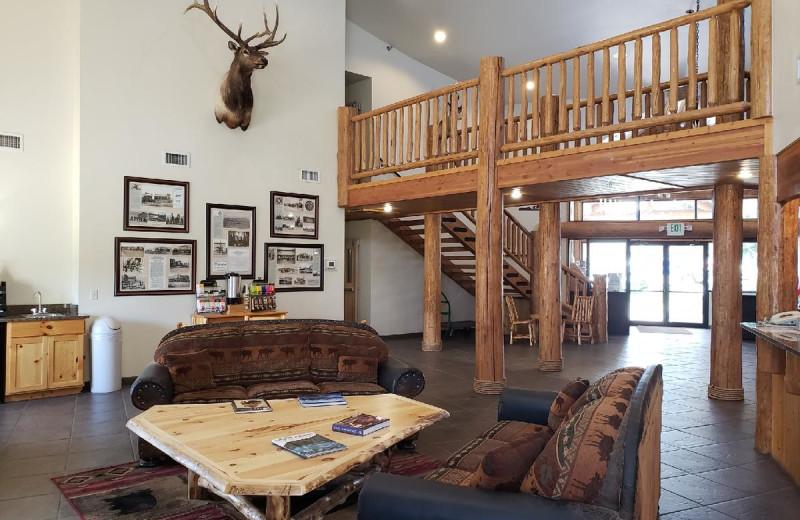 Lobby at Cody Legacy Inn.