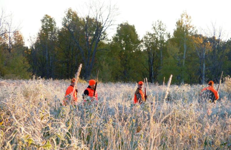 Hunting at Lakewood Lodge.