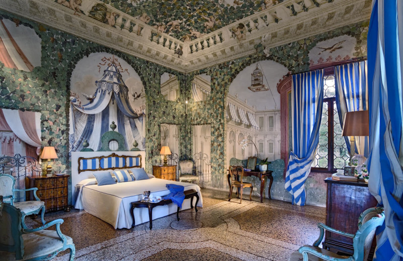 Castle bedroom at Lauren Berger Collection.