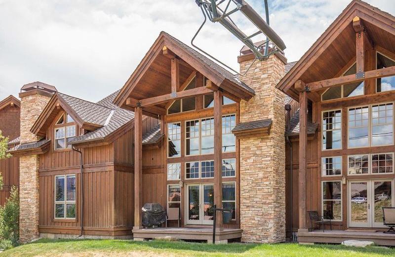 Rental exterior at Durango Colorado Vacations, LLC.