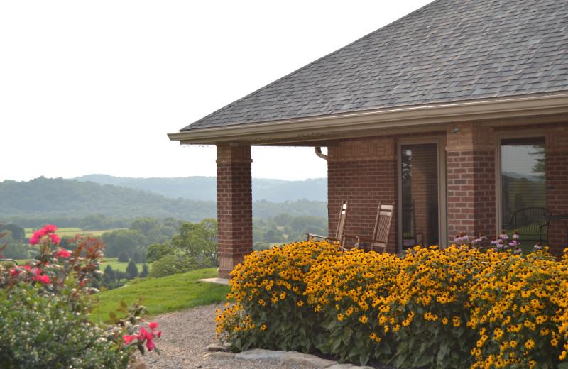 Exterior view of Lenape Heights Golf Resort.