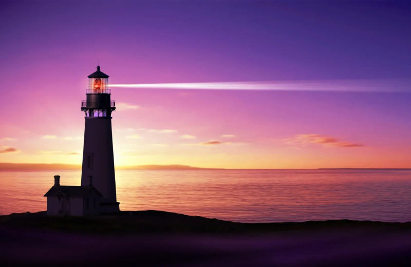 Lighthouse near Starkey Properties.