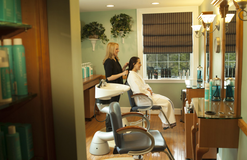 Salon at The Spa at Norwich Inn.