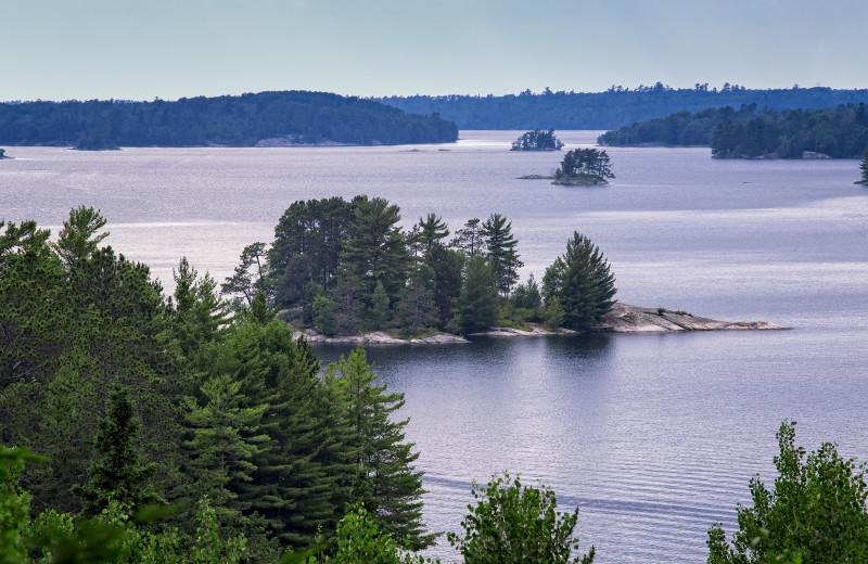 Lake Kabetogama at Birch Grove Resort.