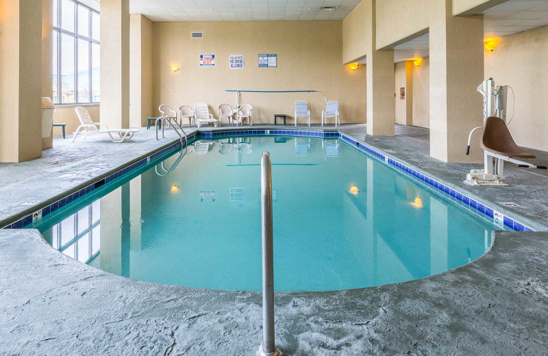 Indoor pool at Park Grove Inn.