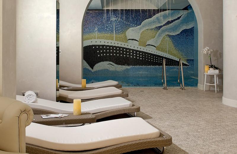Spa at Grand Hotel of Rimini.
