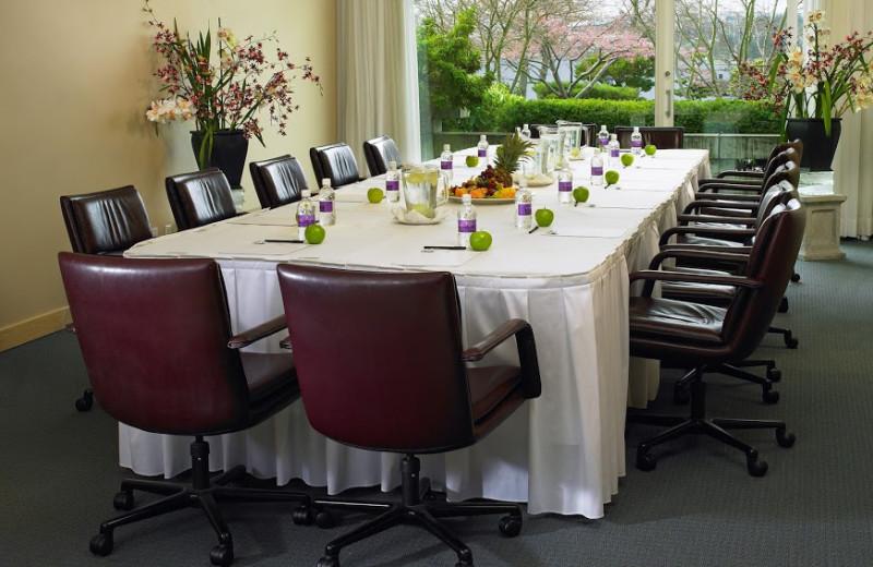 Meeting room at at Inn at Laurel Point.