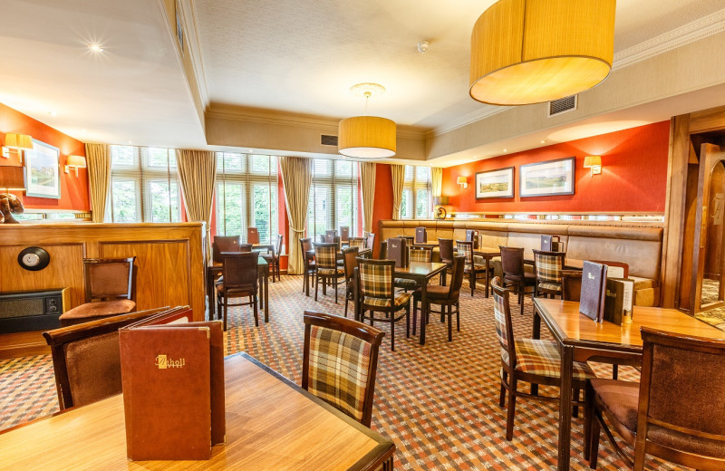 Dining at Atholl Hotel Aberdeen.