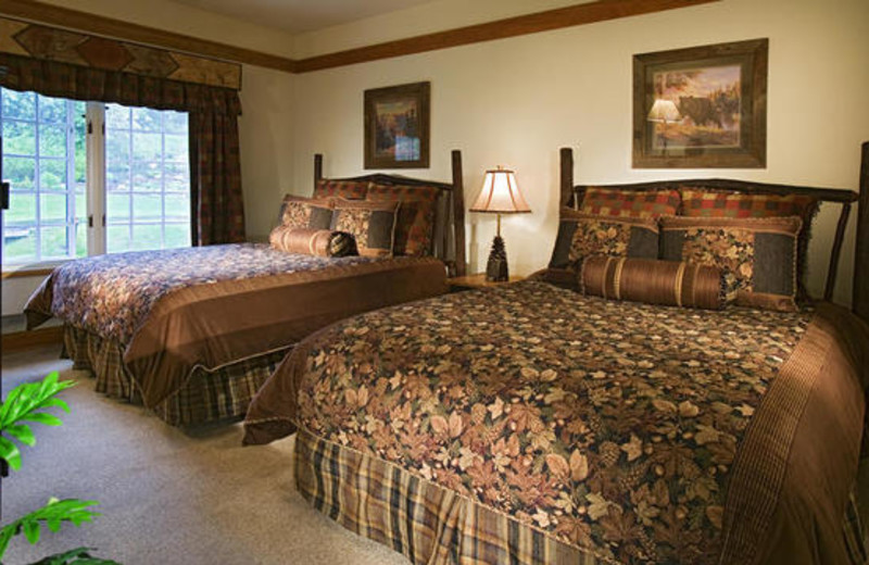 Guest room at The Charter at Beaver Creek.