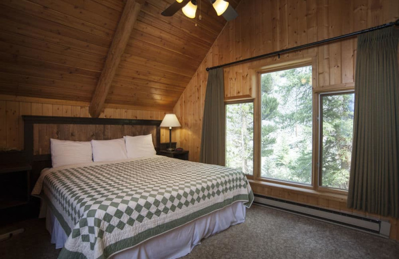 Chalet bedroom at 320 Guest Ranch.
