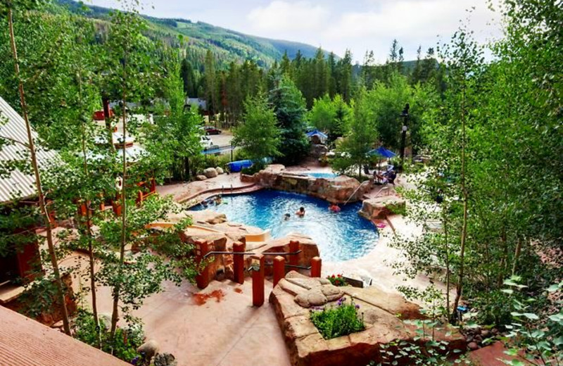 Outdoor pool at SummitCove.