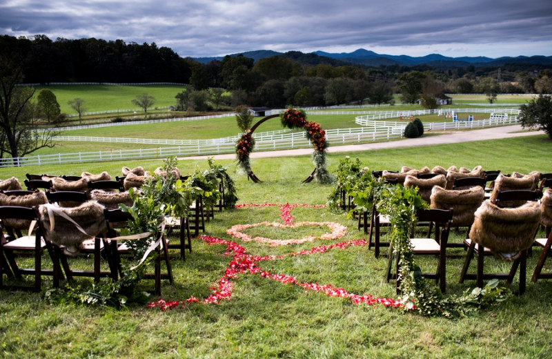 Summer Wedding at The Horse Shoe Farm