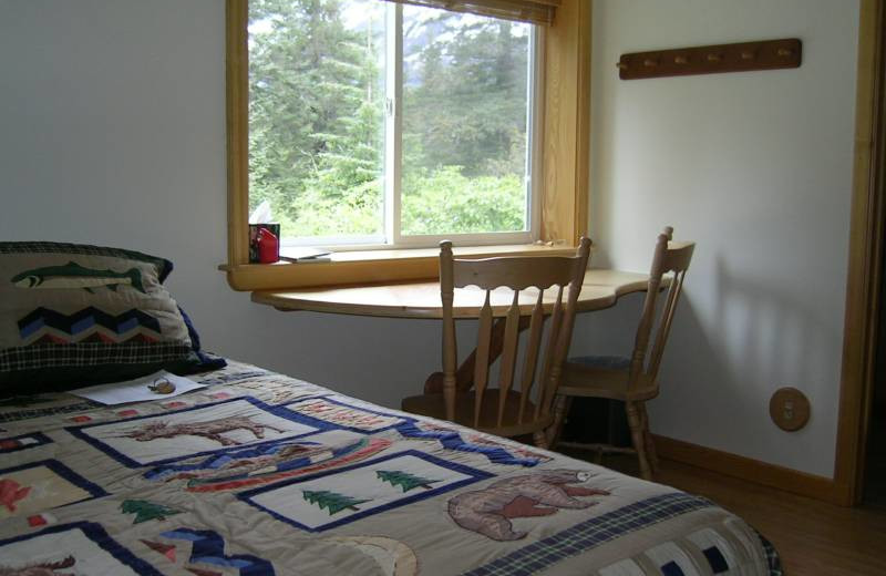 Guest room at Alaskan Sourdough Bed and Breakfast.