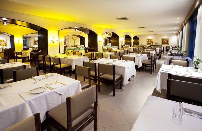 Dining at Resort and Spa Plaza Caldas da Imperatriz.