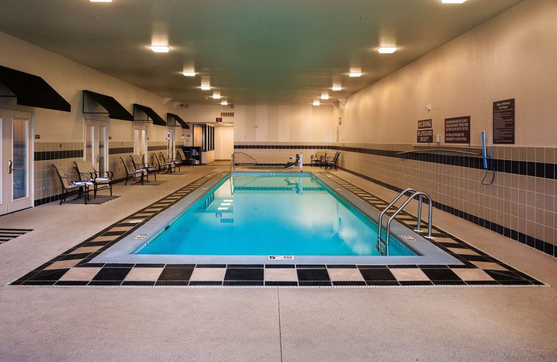 Indoor pool at Best Western Helena Great Northern Hotel.