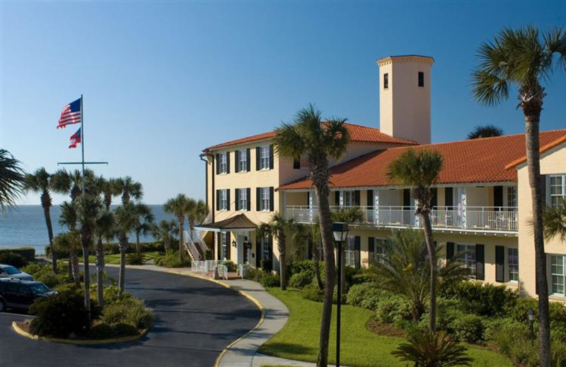 Exterior view of The King and Prince Beach Resort.