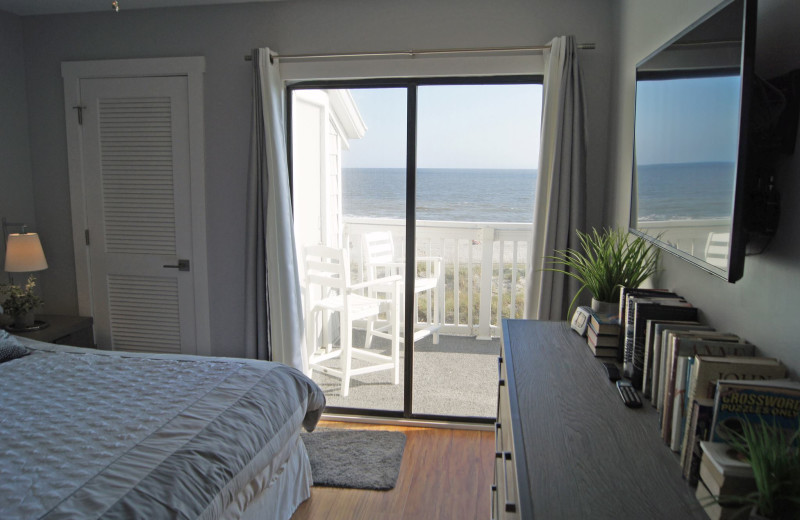 Rental bedroom at McMillan Real Estate.