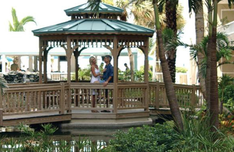 Gazebo at Lido Beach Resort