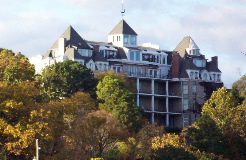 Fall Season in the Ozarks at the Crescent Hotel