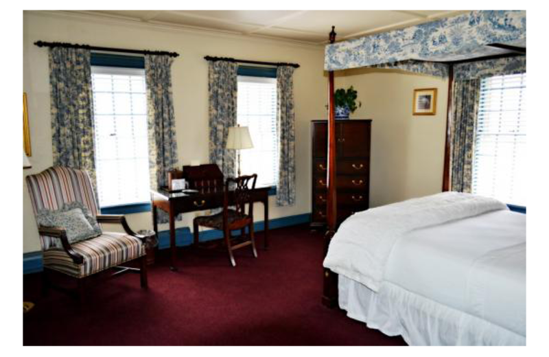 Deluxe Room 22 at The Inn at Montpelier.
