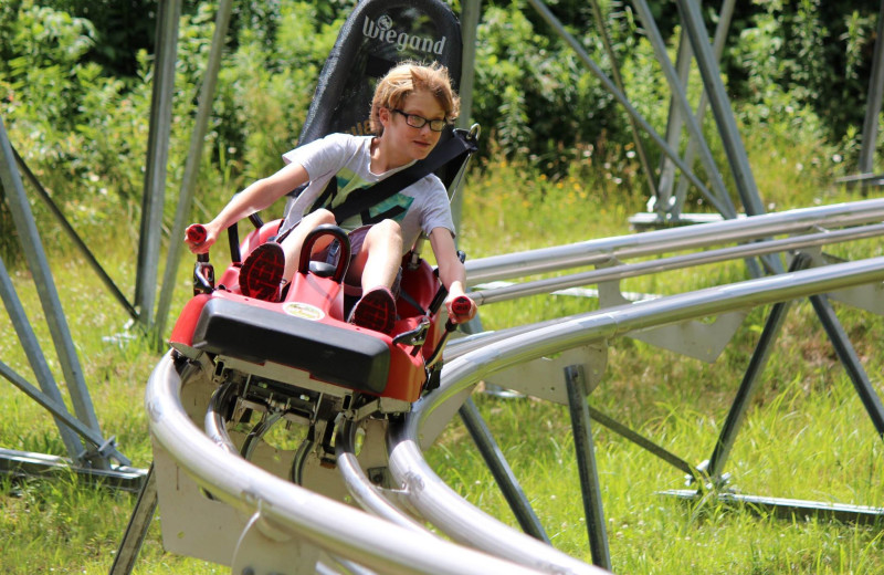 Mountain slide at Holiday Valley Resort.