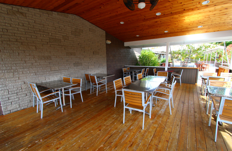 Outdoor patio at The Sullivan.