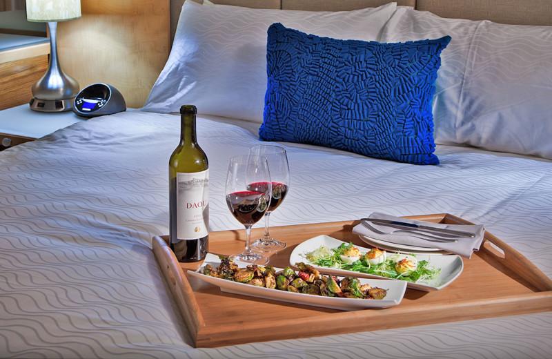Room service at Pier South Resort.